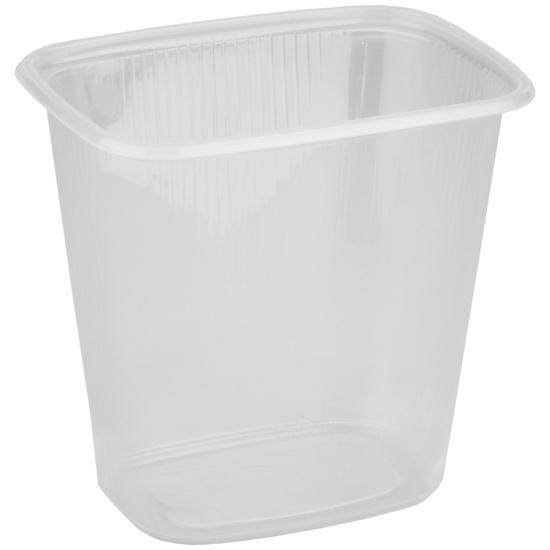 Одноразовый пластиковый контейнер Стиролпласт для салатов 500 мл прозрачный (100 штук в упаковке) — купить в интернет-магазине ОНЛАЙН ТРЕЙД.РУ