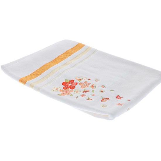 Полотенце tac махровое с вышивкой