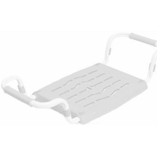 Сиденье в ванну НИКА белое, раздвижное — купить в интернет-магазине ОНЛАЙН ТРЕЙД.РУ
