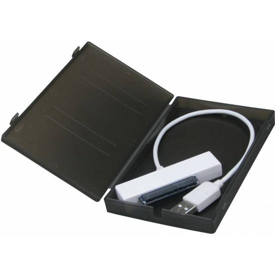 Внешний корпус для HDD/SSD 2.5 AgeStar SUBCP1 пластик черный — купить в интернет-магазине ОНЛАЙН ТРЕЙД.РУ