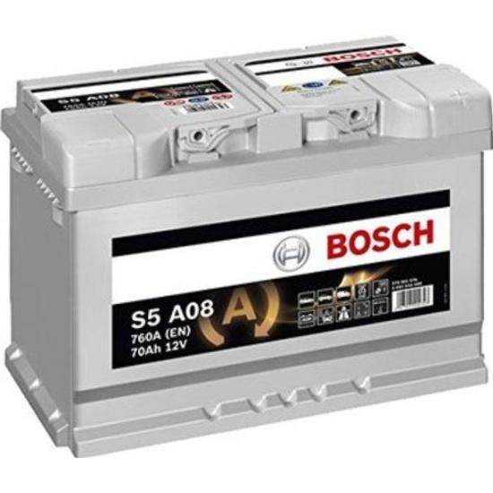 Аккумулятор BOSCH 570 901 076 S5 AGM (S5A 080), 70 Ач — купить в интернет-магазине ОНЛАЙН ТРЕЙД.РУ