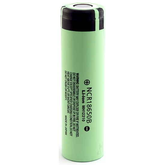 Аккумулятор PANASONIC 18650 Li-ion 3.7В 3400mAh (NCR18650B) б/защиты - купить в интернет магазине с доставкой, цены, описание, характеристики, отзывы