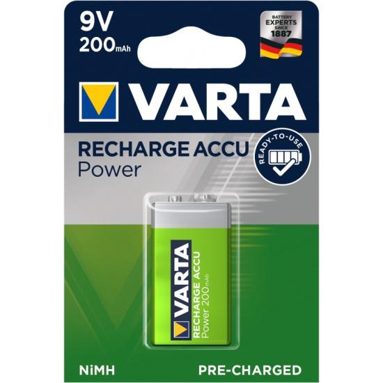 Аккумулятор VARTA 6LR6 9V 200 mAh R2U (уп 1 шт) — купить в интернет-магазине ОНЛАЙН ТРЕЙД.РУ