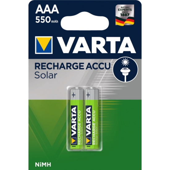 Аккумулятор VARTA LR03 AAA 550 mAh (уп 2 шт) для сад. фонарей 56733101402 - купить по выгодной цене в интернет-магазине ОНЛАЙН ТРЕЙД.РУ Тула