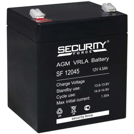 Аккумулятор Security Force SF 12045 — купить в интернет-магазине ОНЛАЙН ТРЕЙД.РУ