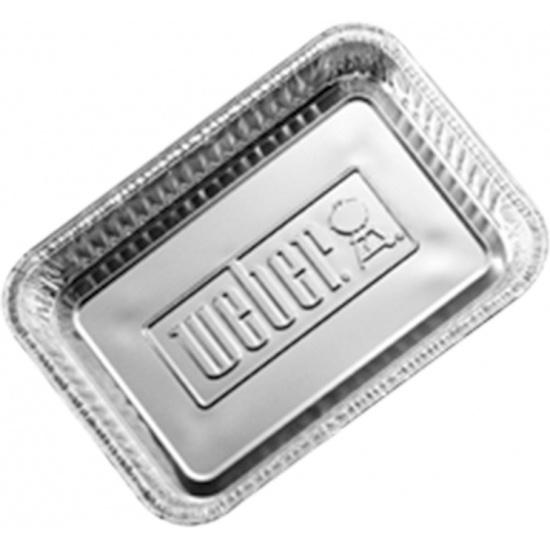 Поддоны алюминевые Weber, малые, 10 шт. 6415_WEBER - купить по выгодной цене в интернет-магазине ОНЛАЙН ТРЕЙД.РУ Пенза