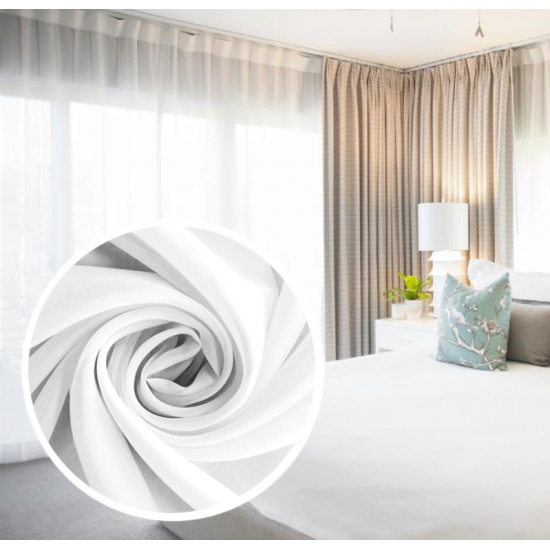 Вуаль Amore Mio однотонная, 600*290 см, белый — купить в интернет-магазине ОНЛАЙН ТРЕЙД.РУ