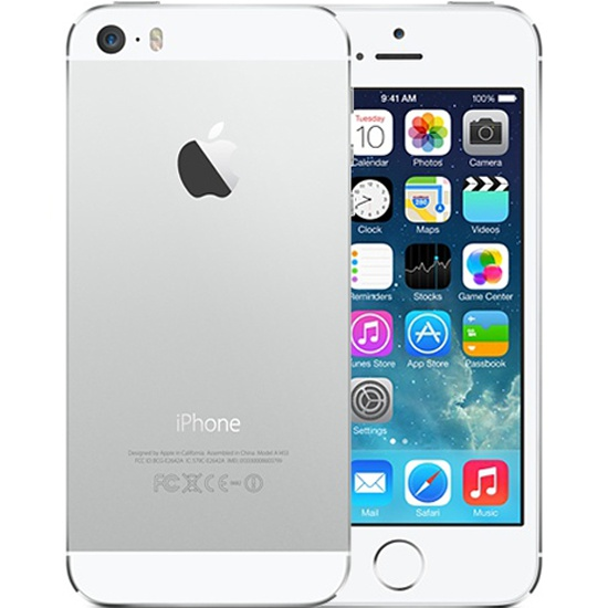 �������� Apple iPhone 5S 16GB Silver (ME433RU/A)
