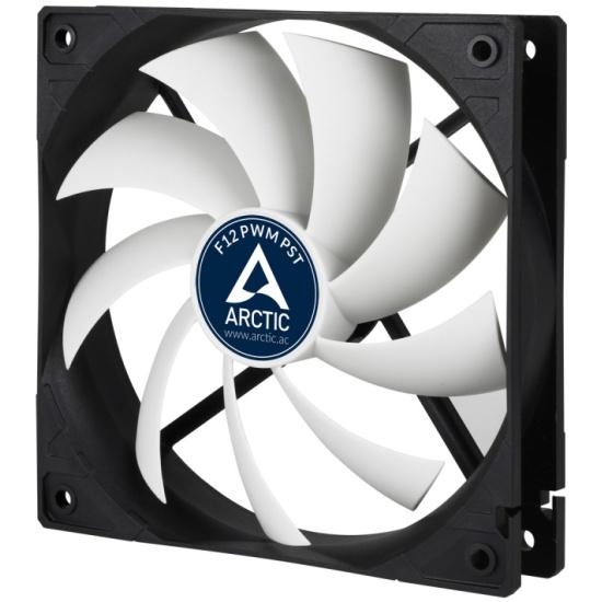 Вентилятор для корпуса ARCTIC F12 PWM PST 120 mm 4-pin 1350 RPM AFACO-120P0-GBA01 — купить в интернет-магазине ОНЛАЙН ТРЕЙД.РУ