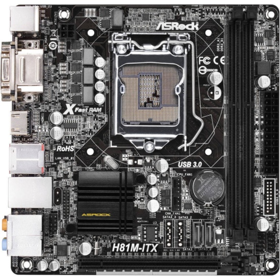 ASRock H81M-ITX A-Tuning Drivers Download Free