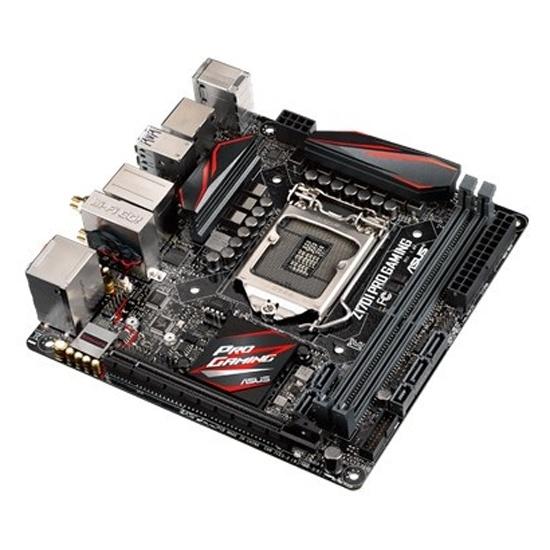 Материнская плата ASUS Z170I PRO GAMING (LGA1151, mini-ITX)- купить в интернет-магазине ОНЛАЙН ТРЕЙД.РУ в Ижевске.