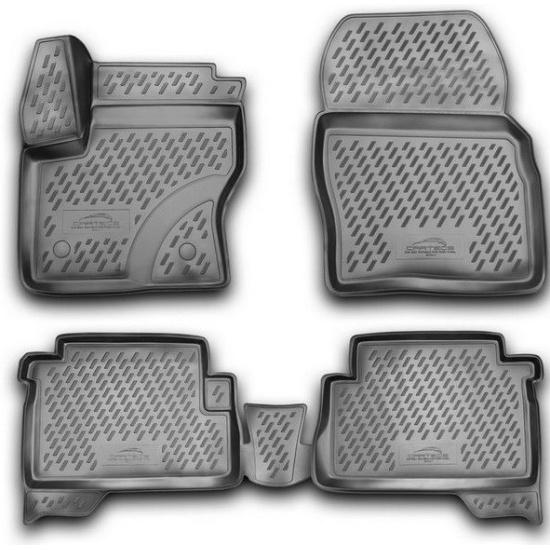 Автомобильные коврики Novline-Autofamily Коврики 3D в салон VW Touareg. - фото 7