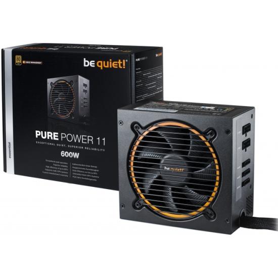 Блок питания be quiet! PURE POWER 11-CM 600W BN298 - купить с доставкой по России, цены, описание, характеристики, отзывы.