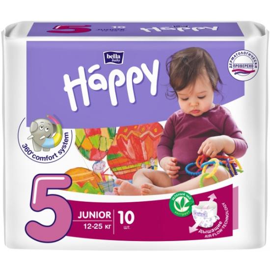 Подгузники Bella (Бэлла) Baby Happy Junior (12-25 кг) 10 шт ... d62fec611f5