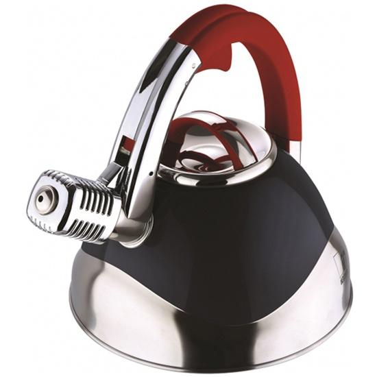Чайник Bergner 3740-BK-BG, 3л, нержавеющая сталь, индукционное дно — купить в интернет-магазине ОНЛАЙН ТРЕЙД.РУ