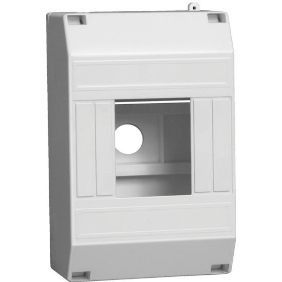Бокс IEK КМПн 1/4 для 4-х автоматических выключателей наружная установка - купить в интернет магазине с доставкой, цены, описание, характеристики, отзывы