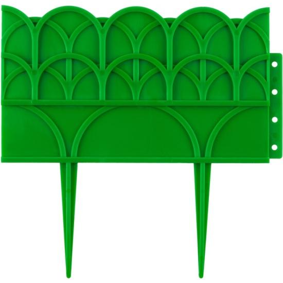 Бордюр декоративный GRINDA 422223-G, 14х310 см, зеленый- купить по выгодной цене в интернет-магазине ОНЛАЙН ТРЕЙД.РУ Йошкар-Ола