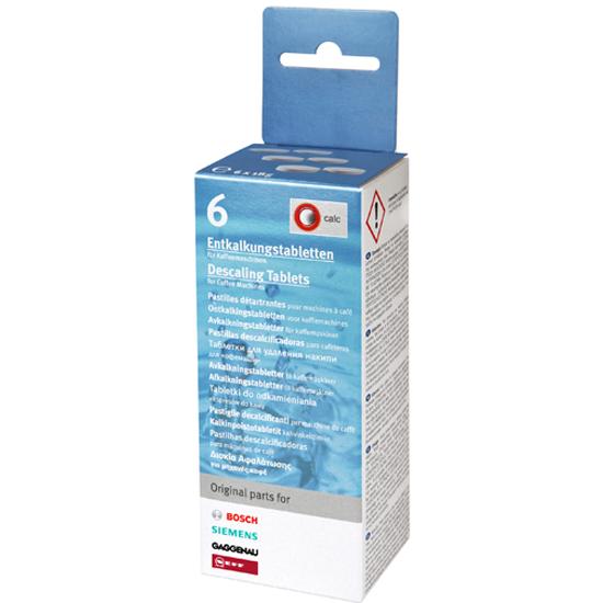 Таблетки от накипи Bosch 311556, 6 шт