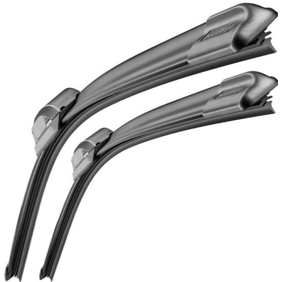 Щетки стеклоочистителя Bosch Aerotwin AR604S, 600мм/450мм, бескаркасная, 2шт, (3397118908) - фото 2