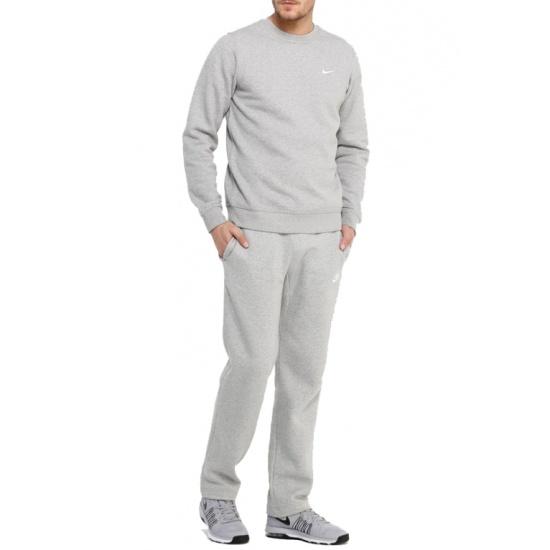 dda7076a Брюки NIKE M NSW PANT OH FLC CLUB 804395-063 мужские, цвет серый ...