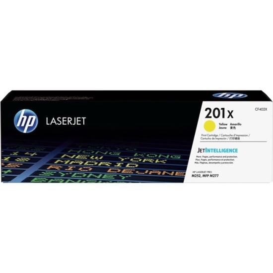 Картридж HP 201X желтый увеличенной емкости для LaserJet M252/277 (CF402X) — купить в интернет-магазине ОНЛАЙН ТРЕЙД.РУ