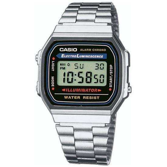 Наручные часы CASIO A-168WA-1 CASIO COLLECTION - купить в интернет магазине  с 9216affd85a56