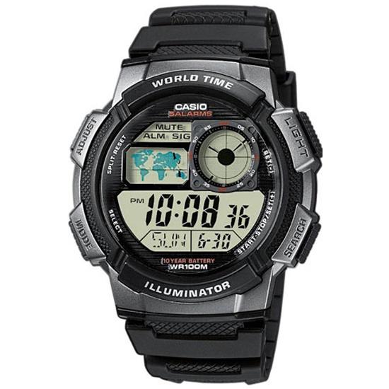 Наручные часы CASIO AE-1000W-1B CASIO COLLECTION- купить по выгодной цене в интернет-магазине ОНЛАЙН ТРЕЙД.РУ Великий Новгород