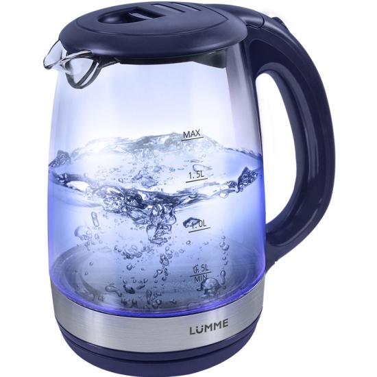 LUMME LU-132 Чайник черный нефрит