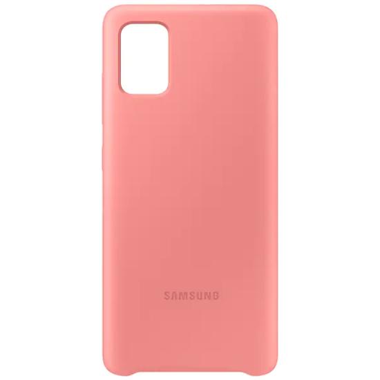 Чехол-накладка Samsung EF-PA515TPEGRU Silicone Cover для Galaxy A51, розовый- купить по низкой цене в интернет-магазине ОНЛАЙН ТРЕЙД.РУ Казани