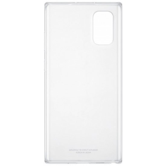 Чехол-накладка Samsung EF-QN975TTEGRU Clear Cover для Note 10+ прозрачный — купить в интернет-магазине ОНЛАЙН ТРЕЙД.РУ