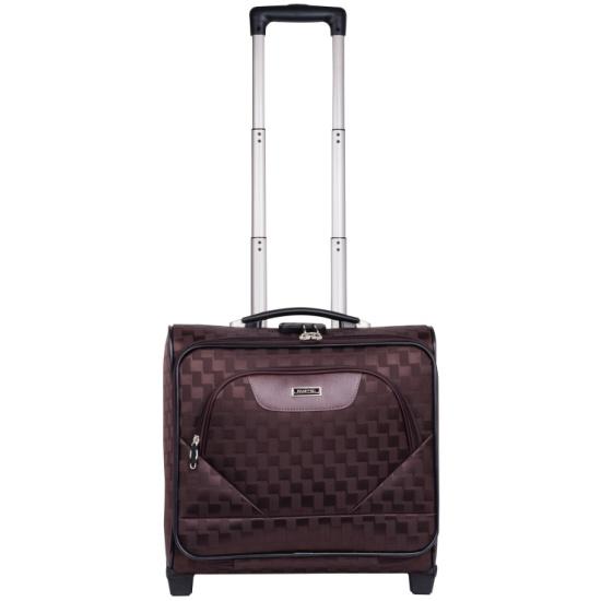 52dbd4acdf53 ... Чемодан-сумка Polar Пилот П7076 (металлический каркас), коричневый  Изображение 2 - купить ...