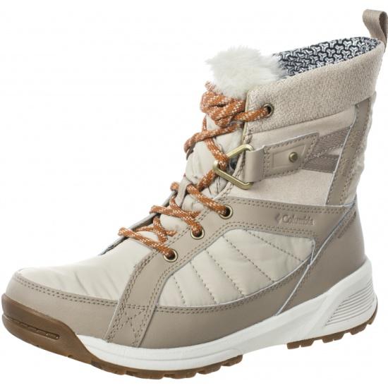 7d92d8c36 Утепленные ботинки Columbia 1791321 WINTER OUTDOOR женские, цвет бежевый,  размер 36 - купить в