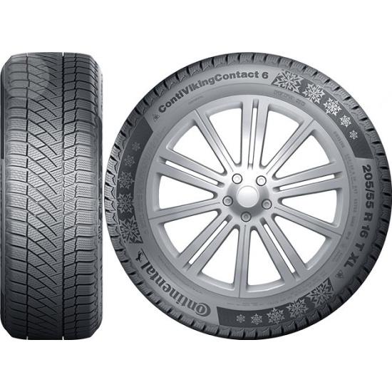 Зимняя шина Continental ContiVikingContact 6 195/55 R16 91T - фото 3