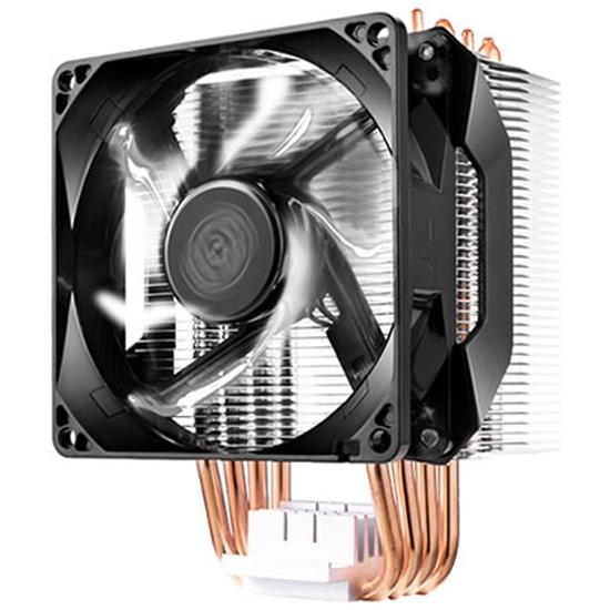 Кулер для процессора Cooler Master Hyper H411R White LED 100W RR-H411-20PW-R1 white — купить в интернет-магазине ОНЛАЙН ТРЕЙД.РУ