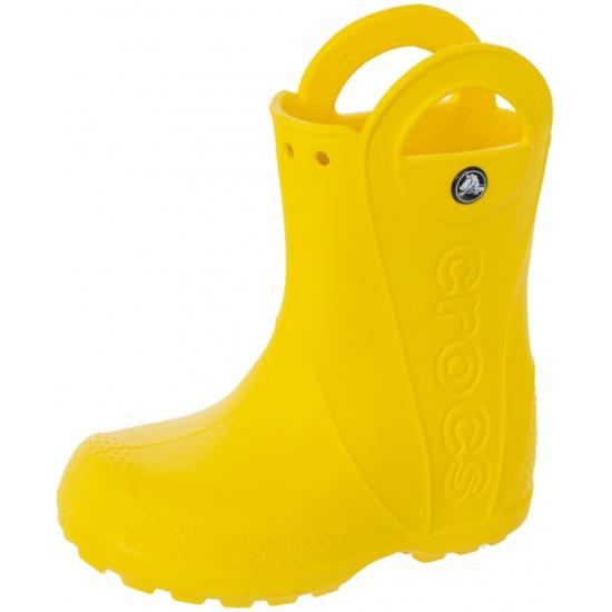 94ffb9448f5819 Сапоги CROCS 12803-730-126 для девочек, цвет желтый, рус. размер 29 ...