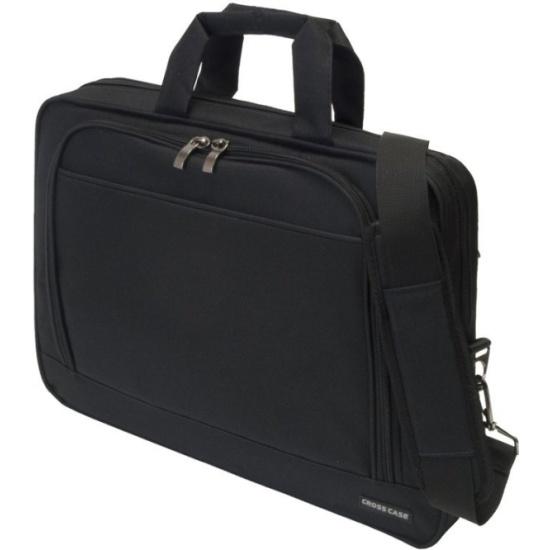 Сумка для ноутбука Cross Case CC15-004, чёрная Изображение 1 - купить в  интернет ... 208efaced93