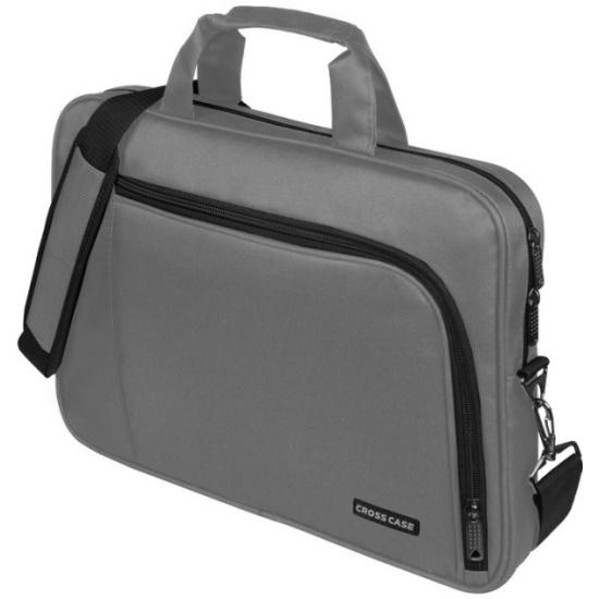 Сумка для ноутбука Cross Case CC15-006, серая - купить в интернет магазине с 2c2b417113f