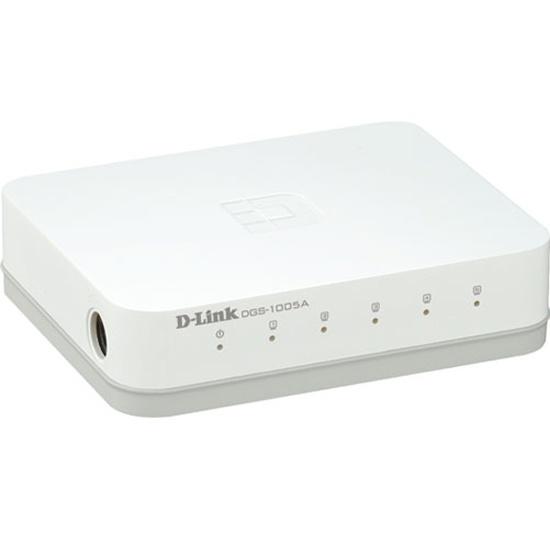 Коммутатор D-Link DGS-1005A/D1A 5 ports 10/100/1000Base DGS-1005A/D1A/D2A - низкая цена, доставка или самовывоз по Краснодару. Коммутатор Д-линк DGS-1005A/D1A 5 ports 10/100/1000Base купить в интернет магазине ОНЛАЙН ТРЕЙД.РУ