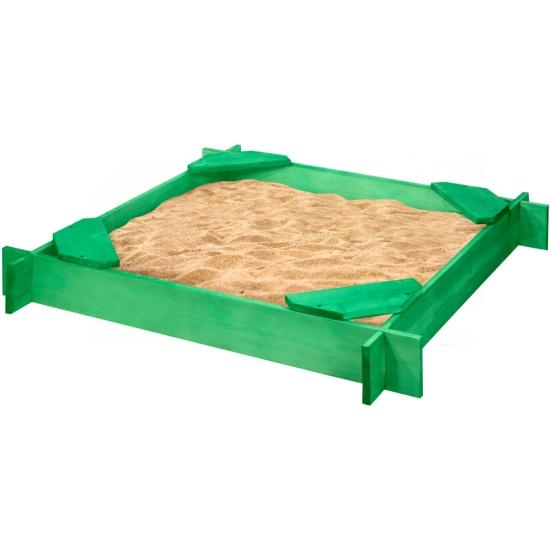 Песочница деревянная PAREMO PS119-02 Ника- купить по выгодной цене в интернет-магазине ОНЛАЙН ТРЕЙД.РУ Тольятти
