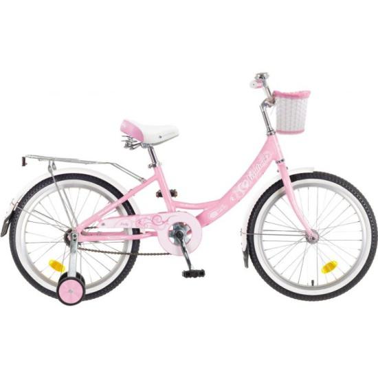 Детский велосипед Novatrack Girlish line 20 2019, розовый, рама One size