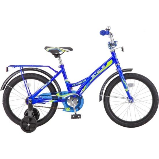 Детский велосипед Stels 18 Talisman Z010, Синий LU076198 - низкая цена, доставка или самовывоз по Нижнему Новгороду. Детский велосипед Стелс 18 Talisman Z010, Синий купить в интернет магазине ОНЛАЙН ТРЕЙД.РУ