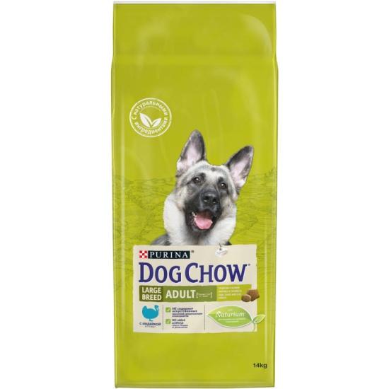 Корм сухой DOG CHOW Adult Large Breed для взрослых собак крупных пород с индейкой 14кг 71254-1 - купить по выгодной цене в интернет-магазине ОНЛАЙН ТРЕЙД.РУ Воронеж