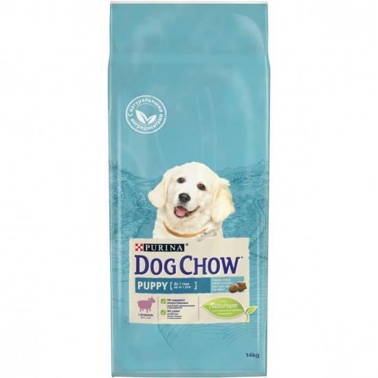 Корм сухой DOG CHOW Puppy для щенков до 1 года с ягненком 14 кг 71086 - купить по выгодной цене в интернет-магазине ОНЛАЙН ТРЕЙД.РУ Уфа