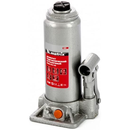 Домкрат гидравлический бутылочный MATRIX 6 т, h подъема 216–413 мм, 50765 4044996165608 - купить в интернет-магазине ОНЛАЙН ТРЕЙД.РУ в Ижевске.