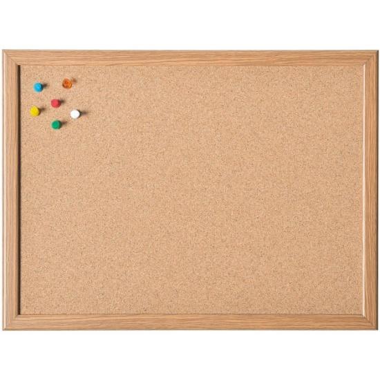 доска пробковая Magnetoplan 60х80 см деревянная рамка купить в
