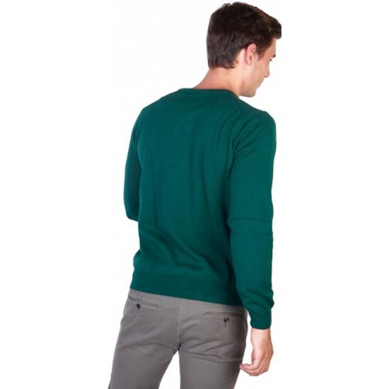 25068931caab Джемпер Trussardi 32M32INT_27 мужской, цвет зеленый, размер L Изображение 2  - купить в интернет