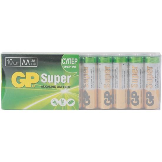 Элемент питания GP Super Alkaline LR6 AA бл 10, 15A-2CRB10 GP 15A-2CRB10 - купить по выгодной цене в интернет-магазине ОНЛАЙН ТРЕЙД.РУ Новосибирск