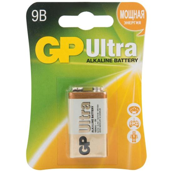 Элемент питания GP Ultra Alkaline 1604AU 9V бл 1, 1604AU-5CR1 GP 1604AU-5CR1 - купить в интернет-магазине ОНЛАЙН ТРЕЙД.РУ в Чебоксарах.