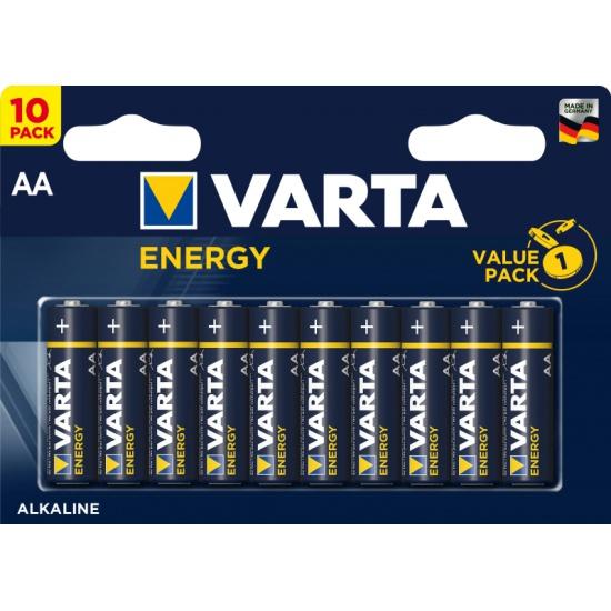 Элемент питания VARTA Energy LR6 AA бл 10 — купить в интернет-магазине ОНЛАЙН ТРЕЙД.РУ