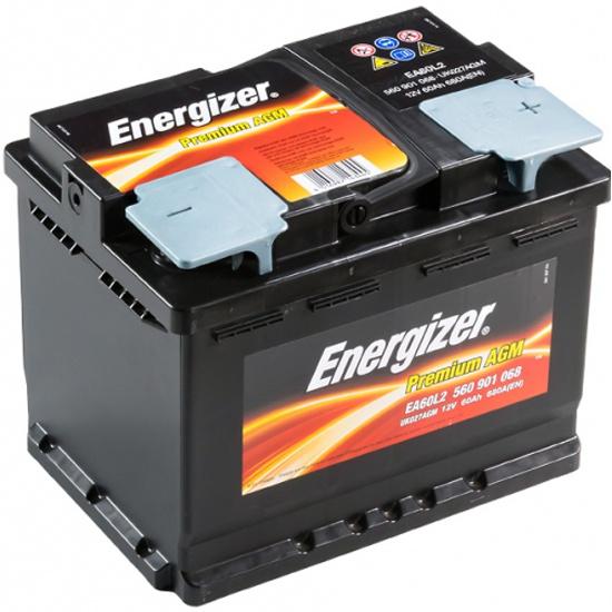 Аккумулятор ENERGIZER AGM EA60L2 560 901 068, 60 Ач 560 901 068 EA60L2 - купить по выгодной цене в интернет-магазине ОНЛАЙН ТРЕЙД.РУ Орёл